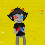 wiill you bee my valentiine? by Raichufan1