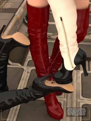 Giantesses in Boots - The Photoshoot Preview 1 by RedFireD0g