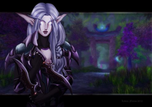 Aelyrai Nightweaver by Leto4rt