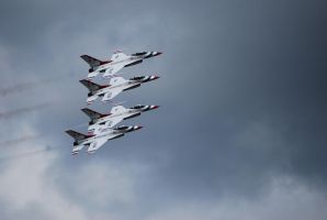 USAF Thunderbird's by Ramsey06