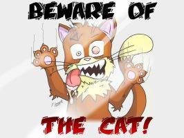 Beware of Cat by moginator