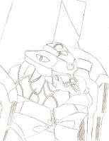 Eva Unit 00 Live Action Sketch by BootsToTheMax