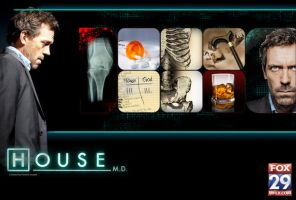 House MD Poster by PatrickJoseph