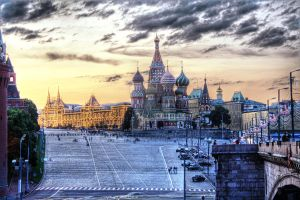 Red Square in HDR by Graphirus