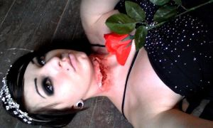 Death Of A Prom Queen (staged photo) by KRSkreations