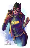 Another BatGirl - in Fabulous Colours by sir-wesley666