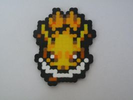 Jolteon Perler Bead Magnet By Kyra10987-d483xpk by phillipsambrosia