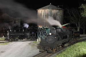 Steamers at night by 3window34