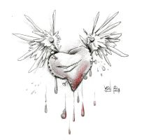 Heart with wings DHOLL by Dimed-roll