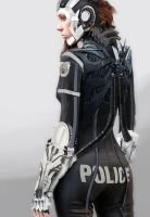 Police Officer by LoopyWanderer
