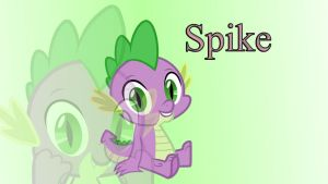 Spike Wallpaper MLP by Misu681