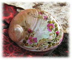 Faery Star White Abalone Shell by ChaeyAhne
