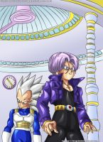 Vegeta and Trunks by DragonballAF