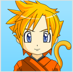 Anime Face Maker 2: Super Saiyan Goku by Peach110