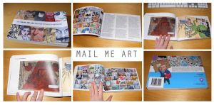 Mail Me Art 2 book by ytak87