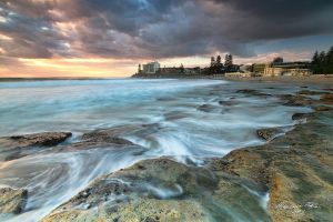 Early Morning at Cronulla by FireflyPhotosAust