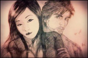 Mayu and Syd Barrett by andre-ma