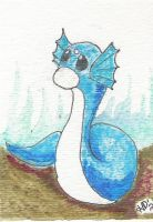 Dratini by FlyingPhoenixFire