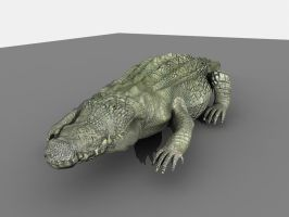 Crocodile 1 by TylerLloyd1992