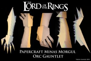 Lord of the Rings Papercraft by teews666