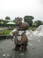 Minnie Mouse on Seal by SlidingWingz