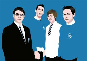 The Inbeweeners by SvelteArt