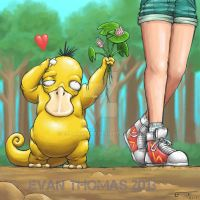 Psyduck just wants to be loved by ECTmonster