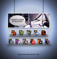 Comics icons by deviantria