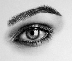 Keira Eye Detail by IleanaHunter