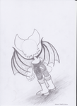 Rouge the Bat by rubbe