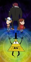 Gravity Falls - TRUST NO ONE (Short version) by gibblycat