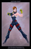 $10Commission: Achtung Baby by johnbecaro