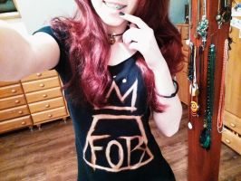 Fall Out Boy t-shirt DIY by lucastraxx