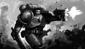 generico space marine by mavhn
