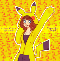 Huevember Day 2 - PIKA panic by LucciolaCrown