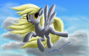 Windy Mane Derpy by DeathPwny