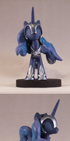 Nightmare moon? - Spin by frozenpyro71