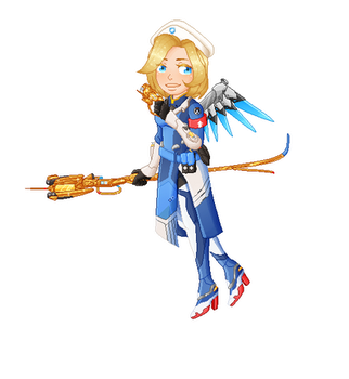 Pixel Mercy by milkivvei