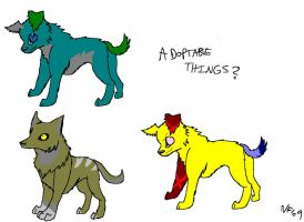 Adoptables?? by Lucky-Puppy
