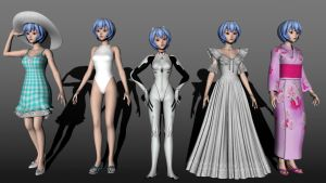 Rei Ayanami New Version by MCMXC2