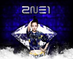 2ne1: Blackjack Sandara by Neelsn