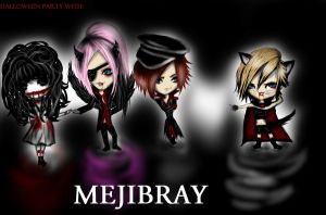 Halloween party with MEJIBRAY. by Keith-Tanatos
