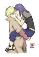 The hokage and his princess_P by LaVidel