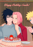 Happy Birthday Sasuke! by byBlackRose