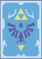 Hylian Shield card by rafaelventura
