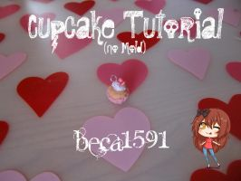Cupcake charm Tutorial (No mold) by Beca1591
