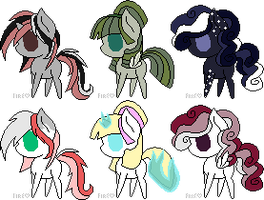 Chibi Pony Offer To Adopts *ALL OPEN* by Dos-Lil-Adoptables