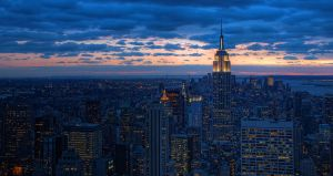 Manhatten Sunset by Freddi1