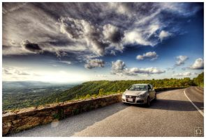 Skyline Drive by omegach
