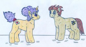 Pony Kimi and Phil by Jose-Ramiro